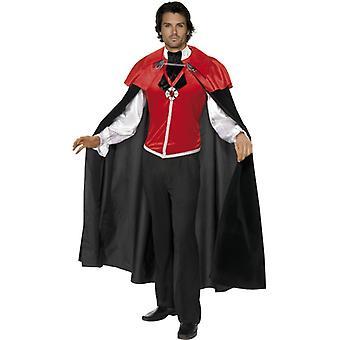Vampir Gothic Dracula Kostüm Herren Halloween