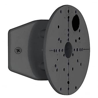 Eglo Black Cornermounting Bracket For Outdoor Wall Lights