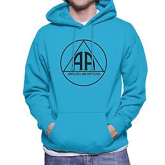 Anglers Anonymous AA Logo Men's Hooded Sweatshirt