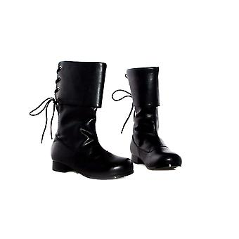 Ellie hoes E-101-parrow Childrens 1 Heel Pirate Ankle Boot