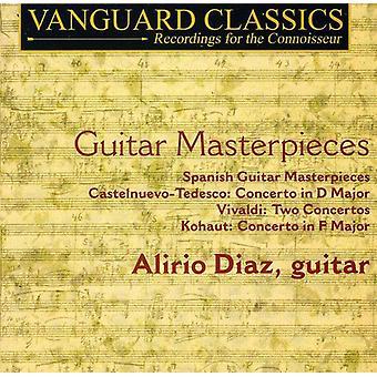 A. Vivaldi - Guitar mesterværker [CD] USA import