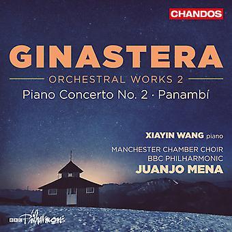 Ginastera / Wang / Ladies of Manchester Chamber Ch - Ginastera: importazione USA Orchestral Works 2 [CD]
