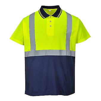 Portwest - Hi-Vis Safety Workwear Two-Tone Polo
