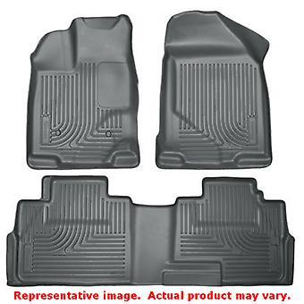 Husky Liners 99762 WeatherBeater gris delantero y asiento 2 ajustes: FORD 2007-2014