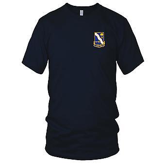 US Army - 143rd Infanteriregiment brodert Patch - Mens T-skjorte