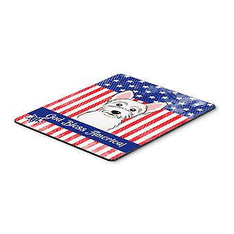 Carolines Treasures  BB2156MP Westie Mouse Pad, Hot Pad or Trivet