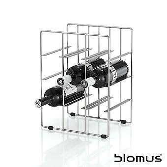 Blomus Pilare Stainless Steel Wine Rack - 9 Bottles