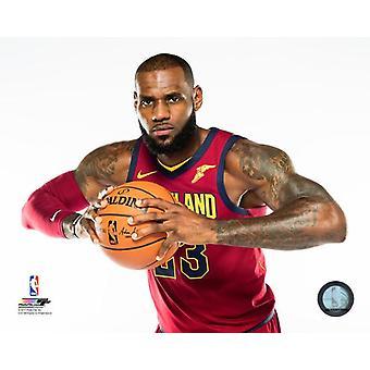LeBron James 2017 Posed Photo Print