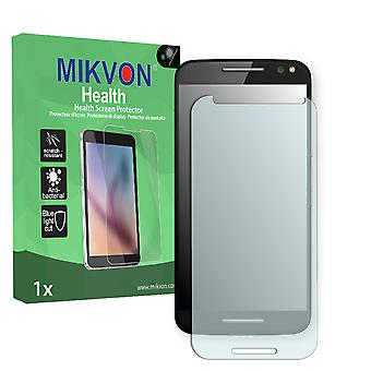 Motorola Moto X Style Screen Protector - Mikvon Health (Retail Package with accessories) (intentionally smaller than the display due to its curved surface)