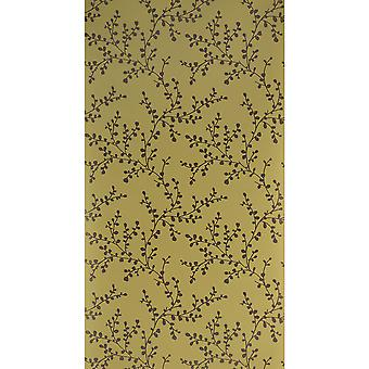 Blendworth Paper Trail Wallpaper Roll Linden Patterned BL-0903 Yellow