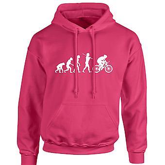 Cycling Evo Evolution Unisex Hoodie 10 Colours (S-5XL) by swagwear