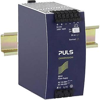 Rail mounted PSU (DIN) PULS DIMENSION 24 Vdc 10 A 240 W 1 x