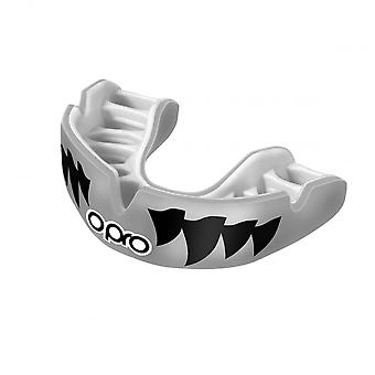 OPRO Power Fit Mouth Guard - Silver White