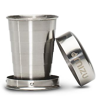 Mizu Collapsible Shot Glass - Stainless Steel