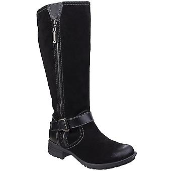 Fleet & Foster Womens/Ladies Tokyo Leather Pull On Zipped Long Boots
