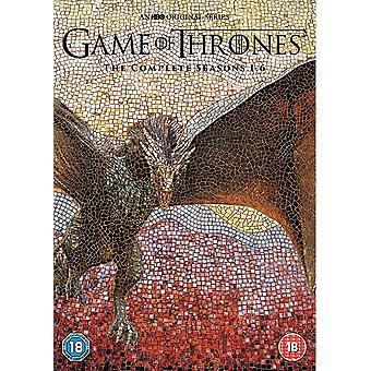 Game of Thrones - Season 1-6 [DVD]