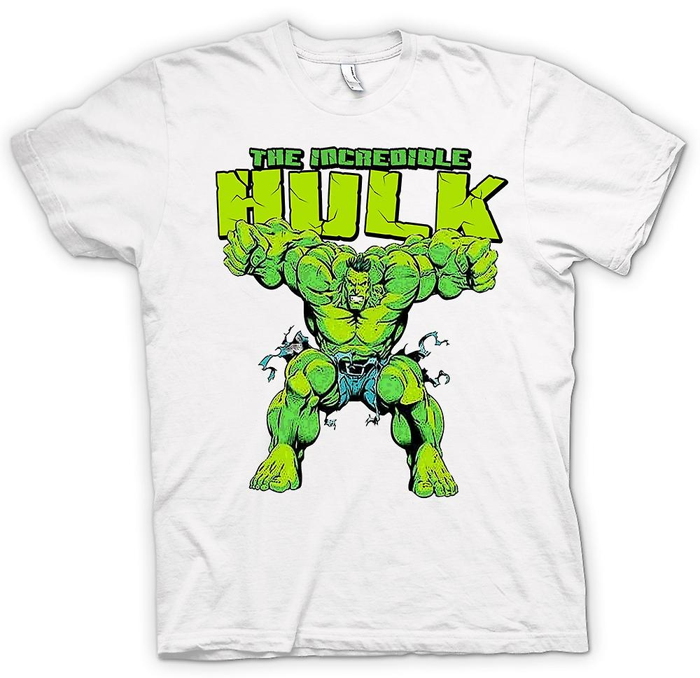 Womens T-shirt -  Incredible Hulk - Comic Hero