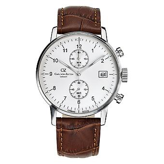 Carl of Zeyten men's watch wristwatch automatic Eschenz CVZ0002WH
