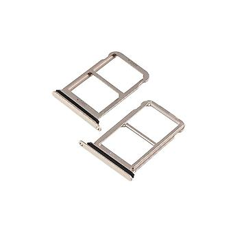 For Huawei P20 per card holder SIM tray slide holder gold repair replacement new