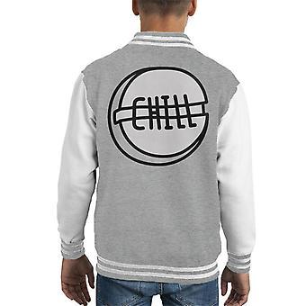 Chill Pill Kid's Varsity Jacket