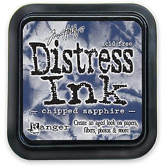 Distress Ink Pad-Chipped Sapphire