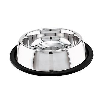 Stainless Steel Non-Skid Dish 16oz-