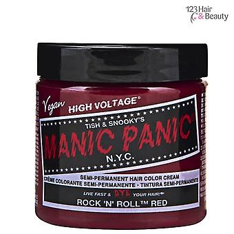 Manic Panic Semi–Permanent Hair Color - Rock N Roll Red