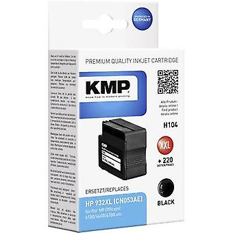 KMP Ink replaced HP 932XL Compatible Black H104 1725,4001