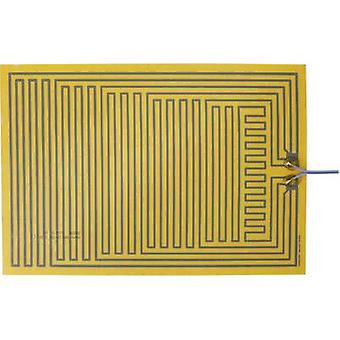 Thermo Polyester Heating foil self-adhesive 12 Vdc, 12 V AC 15 W IP rating IPX4 (L x W) 330 mm x 230 mm