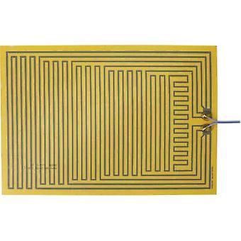 Chauffage de Polyester thermo clinquant auto-adhésif 12 v C.c., 12 V AC 15 W IP notation IPX4 (L x L) 330 x 230 mm