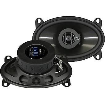 Hifonics Titan 4x6 2 way coaxial flush mount speaker kit 140 W