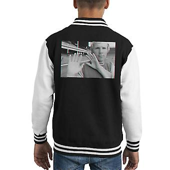 TV Times Bobby Moore 3D Effect Kid's Varsity Jacket