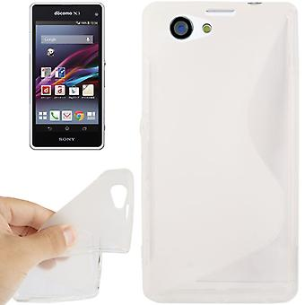 Mobile affaire TPU pour Sony Xperia Z1S / Z1 mini transparent