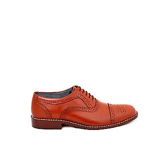 Handcrafted Premium Leather Fabian Captoe Shoe