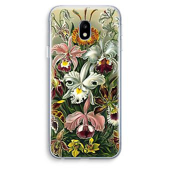 Samsung Galaxy J3 (2017) Transparent Case (Soft) - Haeckel Orchidae