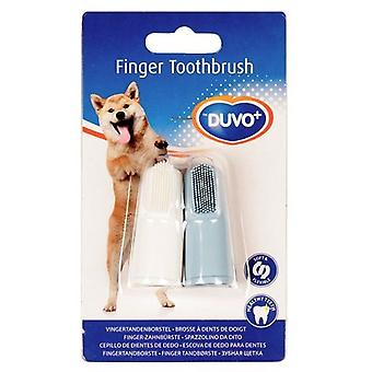 Duvo Teeth Brush Thimble (2 Uni) (Dogs , Grooming & Wellbeing , Dental Hygiene)