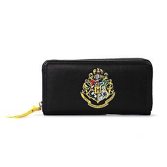 Harry Potter Hogwarts borsa logo nero, stampato in poliuretano, poli sacchetto