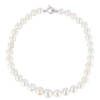 Pearl Aurora Ice Freshwater Pearl Necklace - White