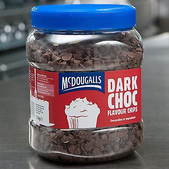 McDougalls dunkle Schokolade gewürzt zusammengesetzte Chips
