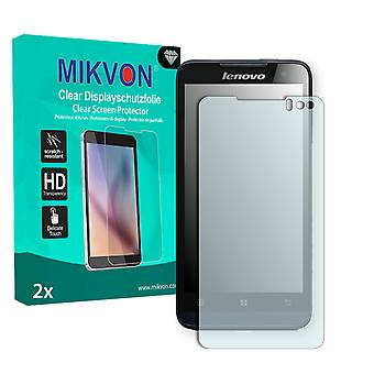 Lenovo Ideaphone P770 Screen Protector - Mikvon Clear (Retail Package with accessories)