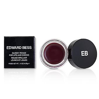 Edward Bess Glossy Rouge For Lips And Cheeks - # Spanish Rose - 4.05g/0.14oz