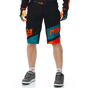 Royal Racing Schwarz-Türkis-Orange Sieg MTB Shorts