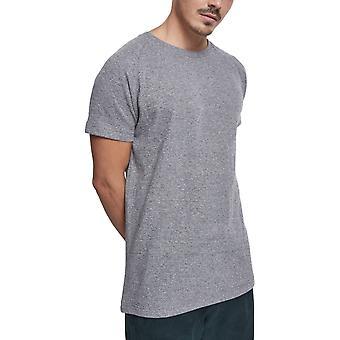 Urban Classics - Melange Rib Shirt grau