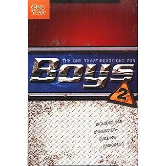 The One Year Book of Devotions for Boys 2 (One Year Book of Devotions for Boys)