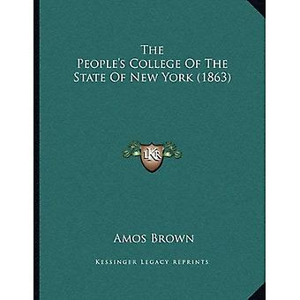 People's College i staten New York (1863)
