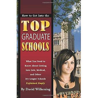 How to Get into the Top Graduate Schools: What You Need to Know About Getting into Law, Medical & Other Ivy League Schools Explained Simply