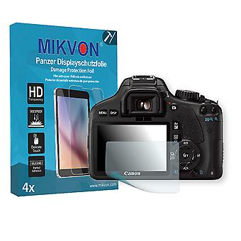 Canon EOS Kiss X4 Screen Protector - Mikvon Armor Screen Protector (Retail Package with accessories)