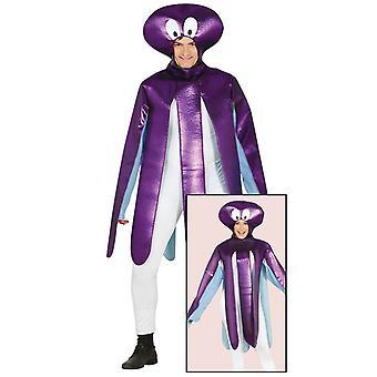 Mens Octopus Sealife Fancy Dress Costume