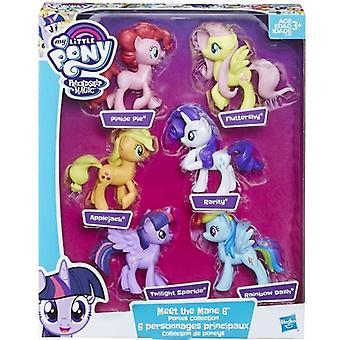 My Little Pony Friendship is magic 6pcs Figurines