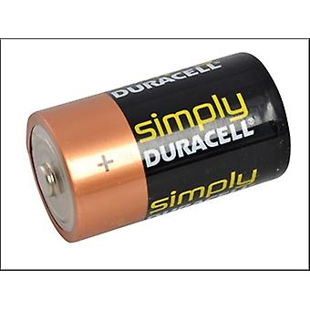 D CELL ALKALINE DURACELL REPACK0 MN1300 BATTERIES PACK OF 2